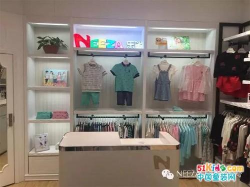 NEEZA乐鲨多店齐开业,各地掀起童装新时尚!