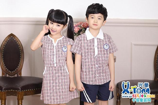 儿童校服夏装 怎么时尚怎么穿