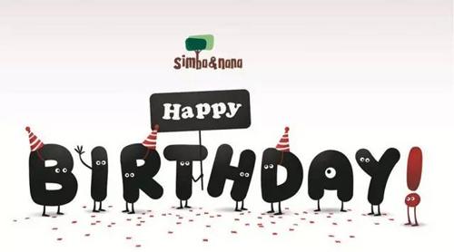 Simba&nana生日快乐!Happy Birthday