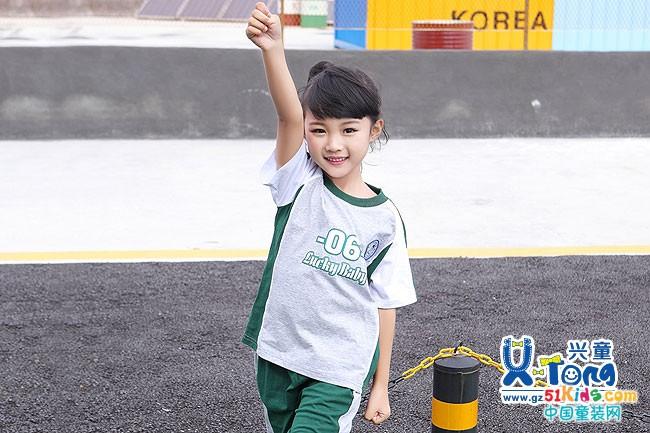 幼儿园运动服夏季 教你玩转校运会