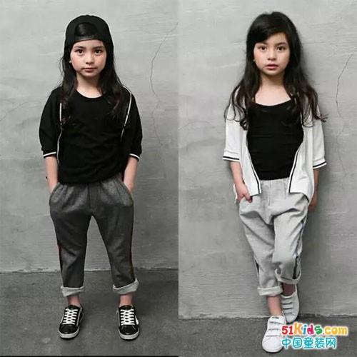 韩国主流童装设计系列