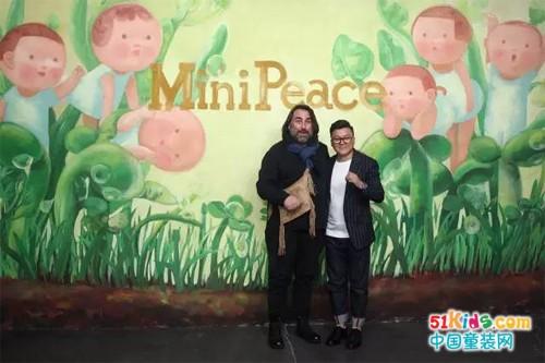 "Mini Peace带你感受自然与童真的艺术时尚,华丽嘉宾阵容助阵""只言片语""时装秀"