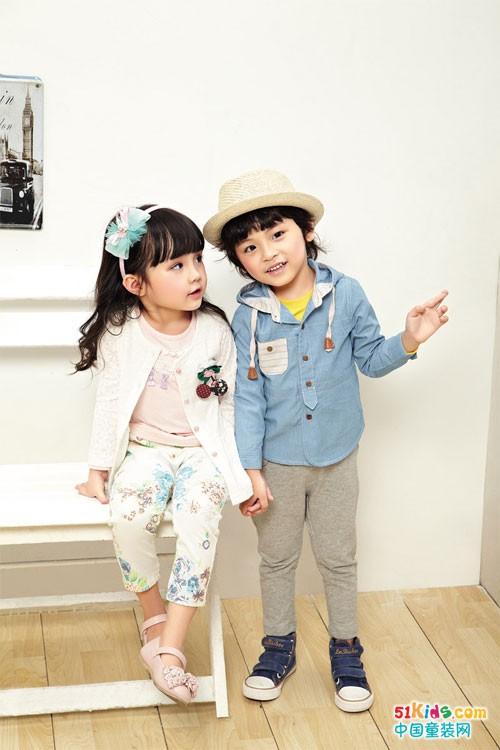 布鲁莎莎甜美童装 富于自然气息时尚不简单来源