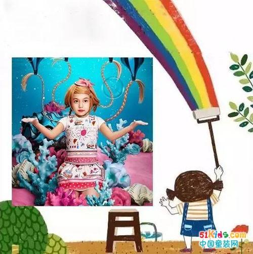我的梦想很美很美,我想当一名画家.