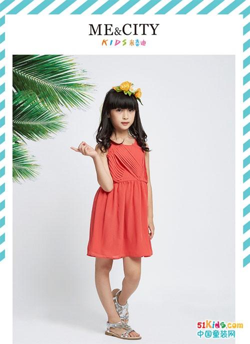 清凉夏日:小大人的纳凉装