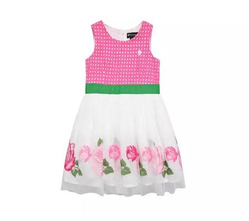 女孩子穿花裙子,肯定漂亮!