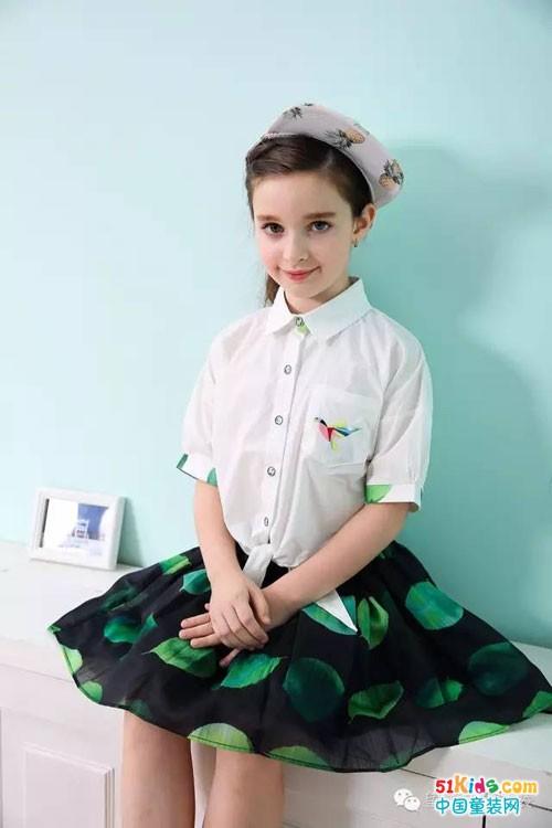 望子成龙童装套裙之学生时代