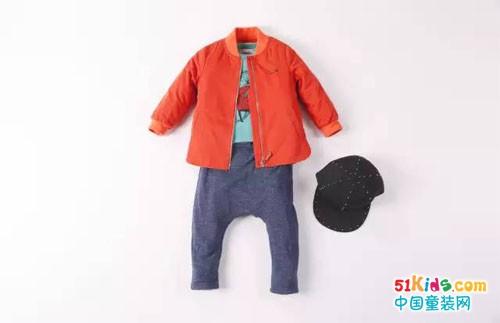 今年橙色正流行,紧跟潮流,从小培养孩子的审美观