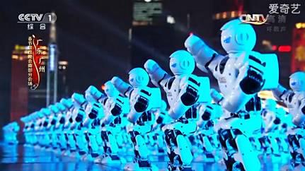 会卖萌能吸睛的迎宾机器人小宝