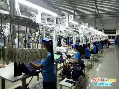 喜讯 ‖ 赛晖国际(缅甸)制衣有限公司首条吊挂线正式投产!