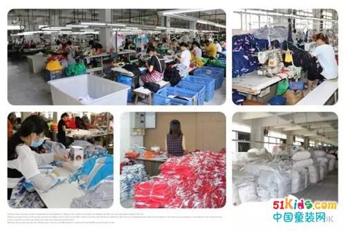 园服旺季高峰·兴童生产从源头抓细节·确保产品保质保量