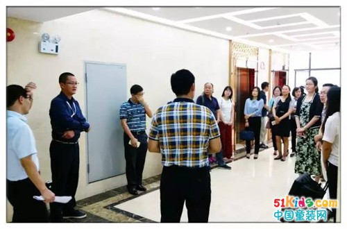 """欢迎由区组织部科长张军携财务科人员莅临""""广东佰林格都""""参观"""