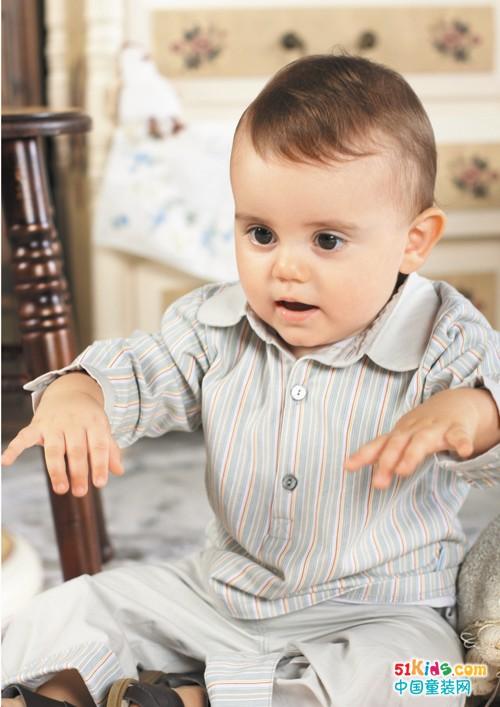 路易迪高婴幼童装,秋季难得的一股优雅风!
