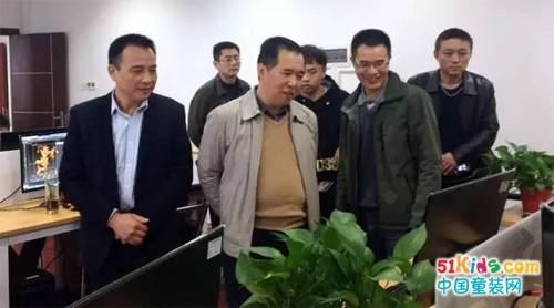 虹猫蓝兔:湖南省文化厅领导莅临湖南漫联卡通指导工作