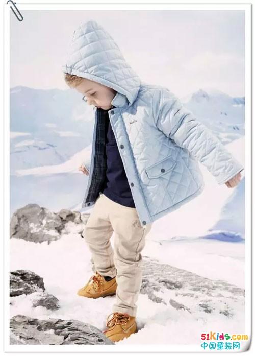 哥比兔一件大衣 让你家宝贝气派过冬天