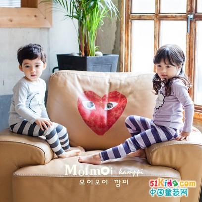 韩国本土有机农中高端童装品牌——Moimoi Kamppi末一末一儿童内衣