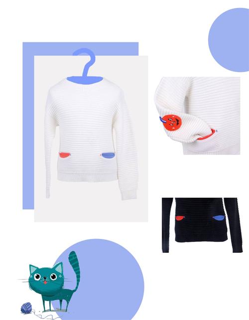 ULLU优露童装 小朋友最喜欢的毛衫