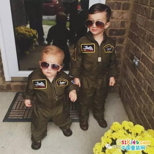 超有爱的哥哥&弟弟,人家的酷炫兄弟装这样穿!