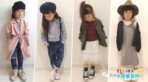 可爱萌妞的魅力时尚,只有5岁就很有范!