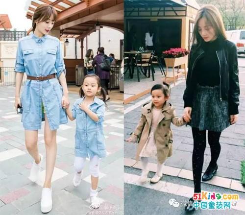 时尚都市范母女装来袭,每天的任务就是打扮女儿和自己!