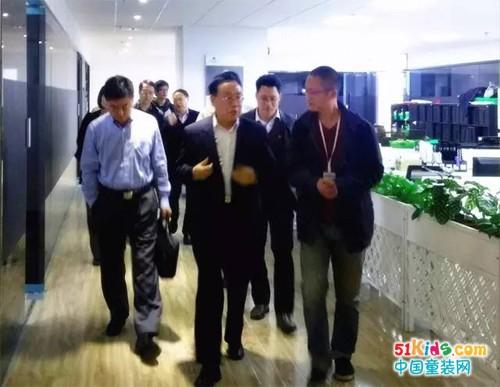 """广东省质量检测局专家代表团莅临""""佰林格都""""参观指导"""