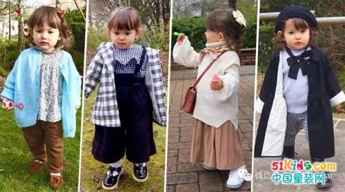 简直要萌炸,真实版洋娃娃大概都是这么打扮的吧!