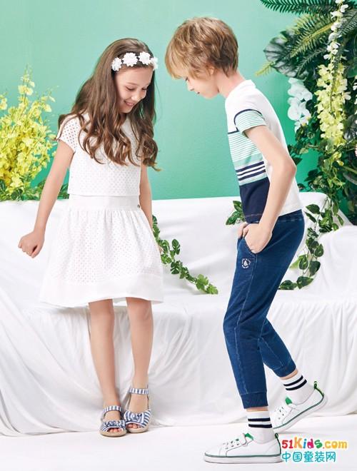 为什么这个孩子那么时尚漂亮?轻松美出新高度!