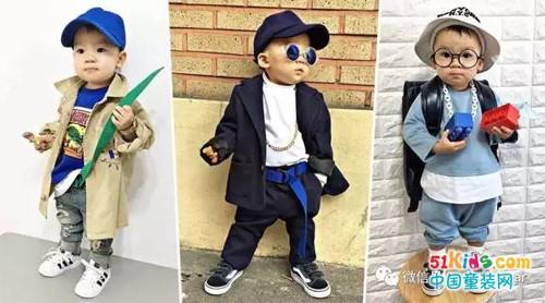 2岁小帅哥的时尚穿搭,不秀出来怎么行!