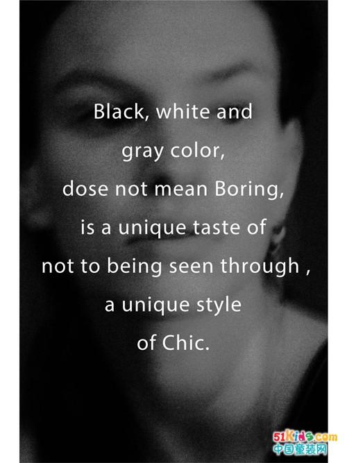 黑白 | 朴而别致的风格
