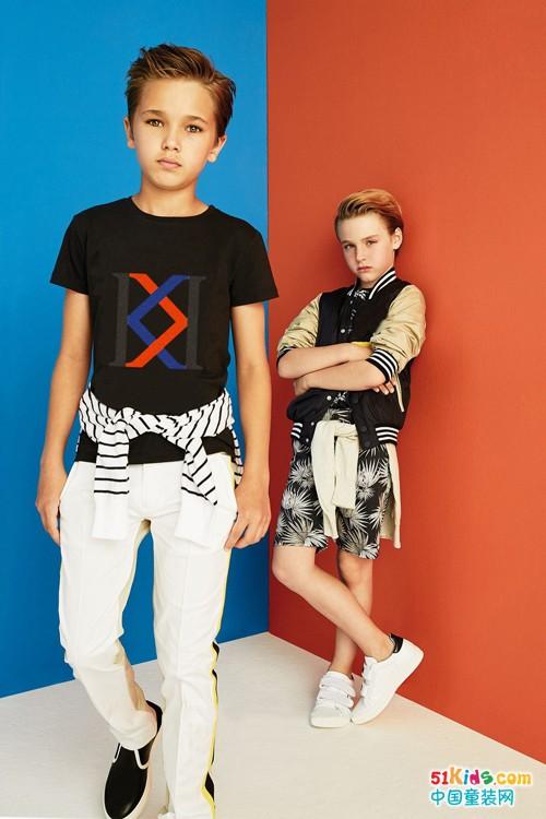 ISLAND KIDS & KIDS ISL童装,独树一帜的黑白时尚!