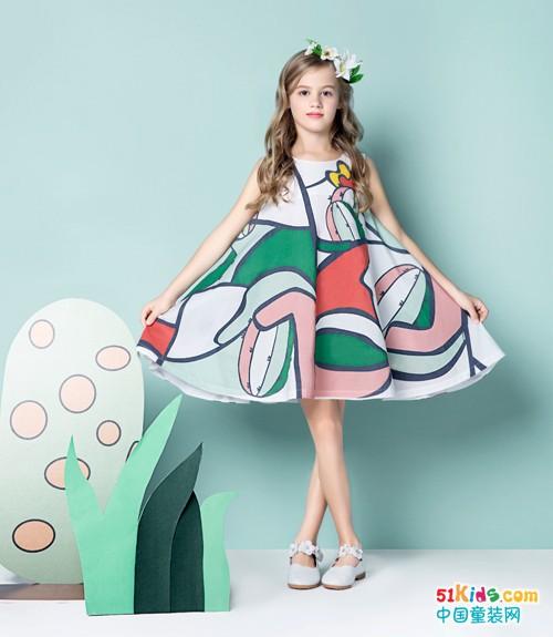 巴柯拉童装,扮靓爱穿裙子的小姑娘!