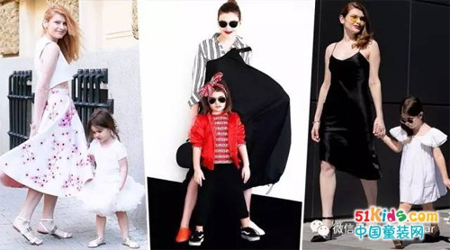 「高逼格」母女装,光会凹造型还不够,会穿才是王道!