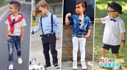 春夏季节必备单品,想要当小型男首先穿好衬衫!