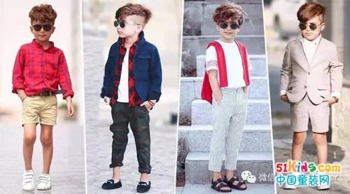 有了儿子这样穿,小小休闲绅士风穿搭的典范!