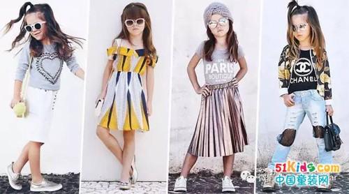 5岁潮妞的春夏街拍,清爽时尚就这样穿!