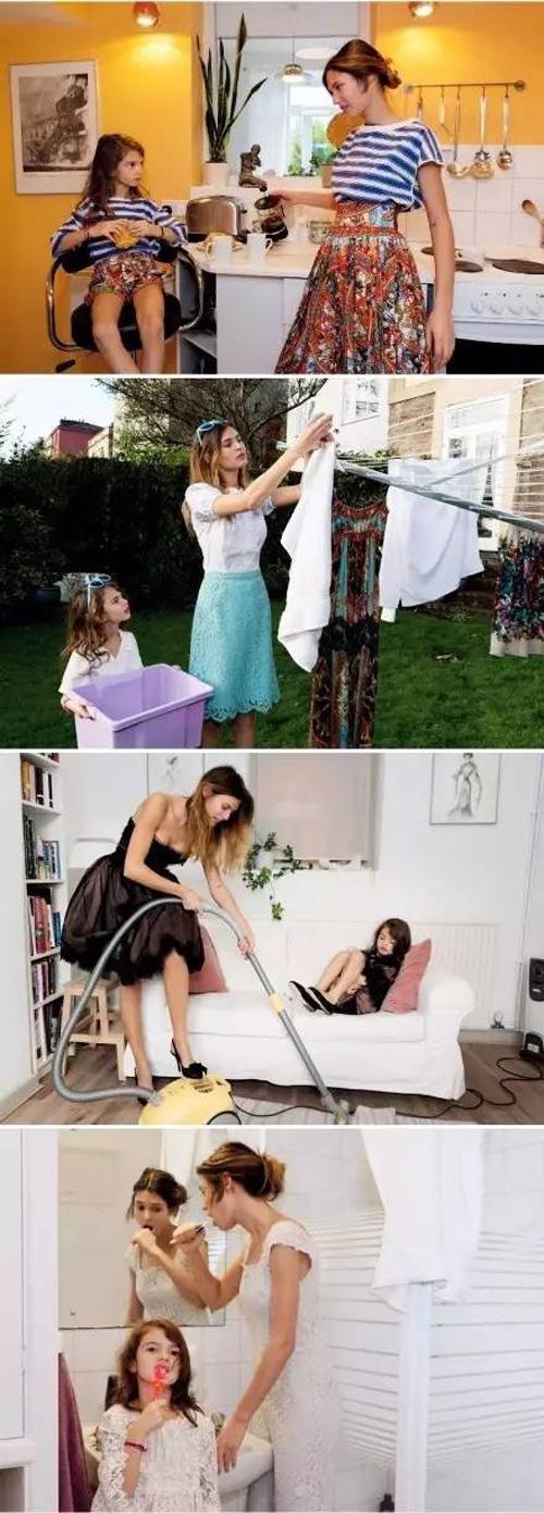 IKKI 时尚辣妈|我的女神,就要跟妈妈一样!