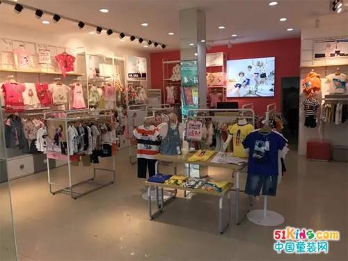 季季乐童装湖北盘龙城店盛大开业!