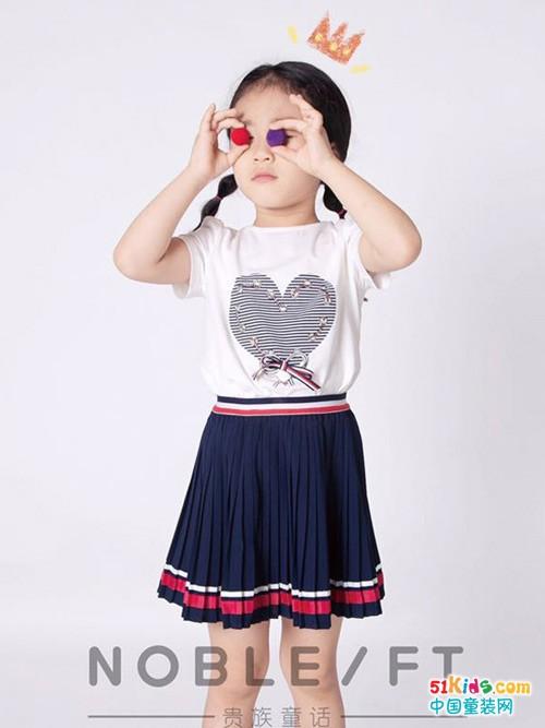 这个夏季宝宝的穿衣由贵族童话童装负责
