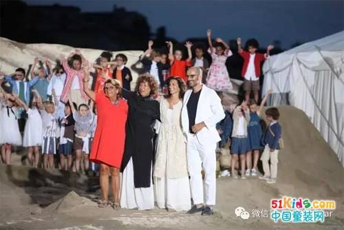 沙漠之梦:意大利奢侈童装品牌Il Gufo2018春夏秀场