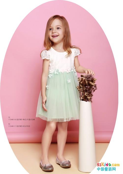 塔哒儿绝美连衣裙,让你做百变时尚小达人!