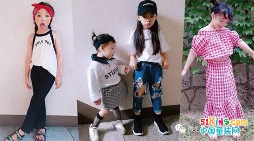 7岁时尚萌妞穿搭,潮人最爱的街头风她也能Hold住!
