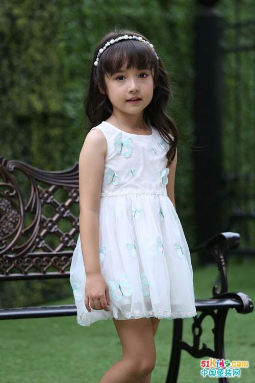姑娘们最爱的公主裙,凯特密欧童装一次满足你!