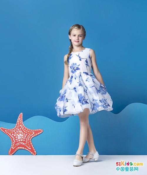 你要的清新优雅和时尚唯美,巴柯拉童装都能给!