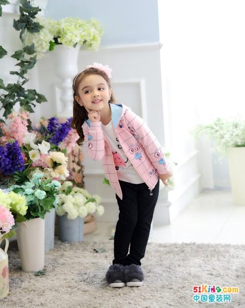 叮当猫童装秋冬时尚,让宝贝沉浸在粉色童话里!