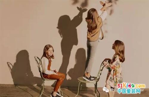 法国著名品牌Chloé 2017秋冬童装系列画册LookBook