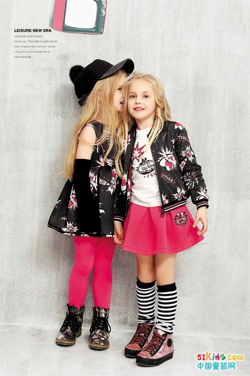 一套Folli Follie芙丽芙丽童装,满满一季的时尚!