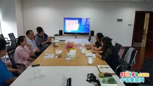 中科协等领导一行来到湖南漫联卡通调研指导