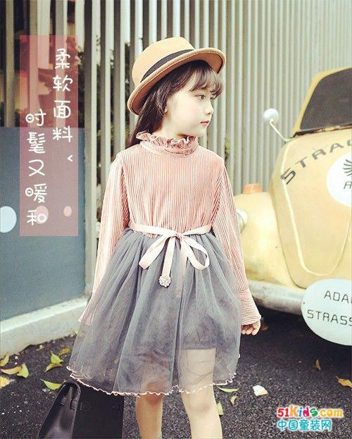 可爱连衣裙丨暖暖的小仙女_中国童装网