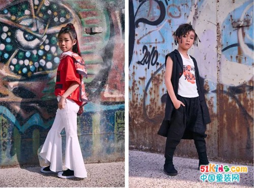 久久童装丨中国国际时装周街拍告诉你,东方文化是18年春夏最时髦的元素