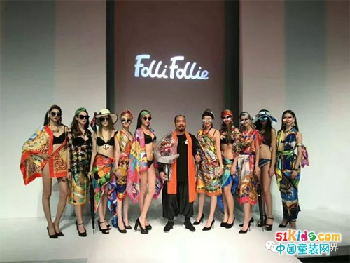 FolliFollie·北京中国国际时装周|丝巾独领时尚风骚……
